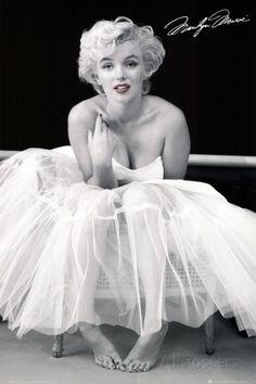 Marilyn Monroe-Ballerina ポスター