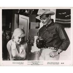 Thelma Ritter, Rare Marilyn Monroe, Montgomery Clift, John Huston, Clark Gable, Misfits, Gelatin, The Originals, Film