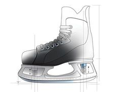 PopSci rendering of Launch Skates concept  www.LaunchSkates.com Skates, Ice Skating, High Tops, High Top Sneakers, Product Launch, Concept, Skating
