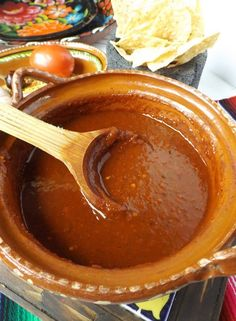 Toasted Chile Cascabel Salsa