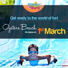 Fun never ends at #OystersBeach! Our gates re-open on 1st March.