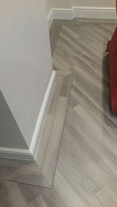 Hall Flooring, Living Room Flooring, Grey Flooring, Bedroom Flooring, Parquet Flooring, Faux Wood Tiles, Herringbone Wood Floor, Wood Tile Floors, Wood Floor Design