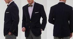 A Man's Primer on the Blazer Jacket; How a blazer jacket should fit