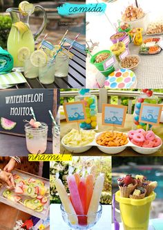 Monte O Look: How to make a pool party spending little Aloha Party, Neon Party, Luau Party, Picnic Birthday, 18th Birthday Party, Summer Birthday, Summer Pool Party, Summer Parties, Party Moana