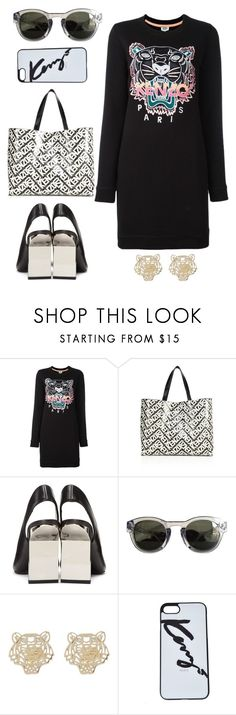 """""""Kenzo!"""" by schenonek ❤ liked on Polyvore featuring Kenzo"""