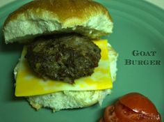 This and that: Goat Burger