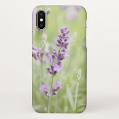 Lavender iPhone X Case - spring gifts beautiful diy spring time new year