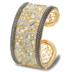 Best Diamond Bracelets  : Experience Royalty in Case Reale Jewelry- incredible black rhodium yellow gold
