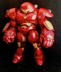 CUSTOM MARVEL SELECT HULKBUSTER IRON MAN by RedRebelCustoms on DeviantArt