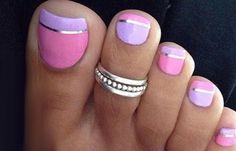Free Image Hosting - Upload Pictures Without Sign-up Simple Toe Nails, Cute Toe Nails, Fancy Nails, Bling Nails, Glitter Nails, Pretty Nails, Acrylic Nail Art, Toe Nail Art, Vernis Semi Permanent