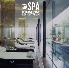 """Douglas Wallace Architects and Designers Awarded """"Best Hotel Design for Spa, Health and Leisure Interiors"""" at 2006 European Hotel Design Awards for E'Spa at the g Hotel in Galway Best Spa, Beauty Awards, Beauty Industry, Hotel Spa, Design Awards, Best Hotels, Irene, Architects, Designers"""