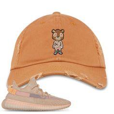 d223c6eea61c2b Yeezy Boost 350 Clay V2 Sneaker Match Yeezy Bear Burnt Orange Distressed  Dad Hat