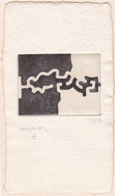 Available for sale from Galerie Koch, Eduardo Chillida, Lasaitasun (1983), Lasaitasun, 6 1/2 × 8 7/10 cm
