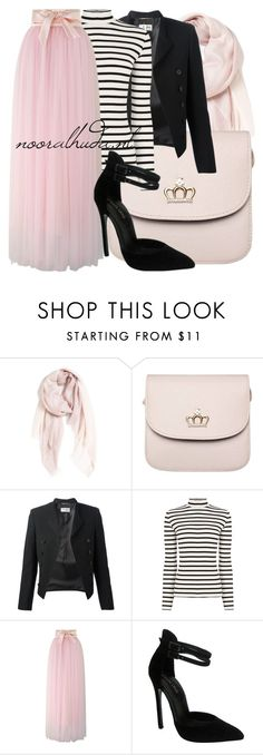 """Hijab Outfit #723"" by hijabhaul ❤ liked on Polyvore featuring Nordstrom, Yves Saint Laurent, Oasis, Chicwish, The Highest Heel and hijab"