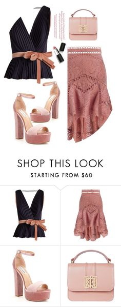 """""""Scarlett."""" by emi-the-queen ❤ liked on Polyvore featuring Roksanda, Zimmermann, Steve Madden, Sigma, asymmetricskirts and 60secondstyle"""