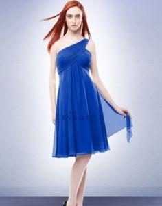 Royal Blue Bridesmaid Dress- Love this!  #Bill Lovkoff