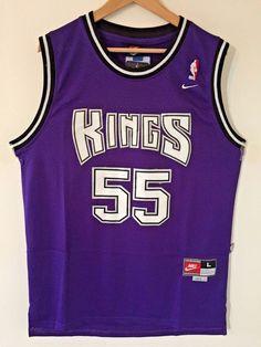 456af1ac419 Men 55 Jason Williams Jersey Purple Sacramento Kings Throwback Swingman