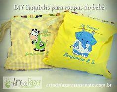 Saquinho para roupa suja DIY ~ Arte De Fazer | Decoração e Artesanato