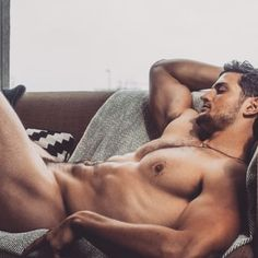 Feeling The Freedom Of A Nude Nap Men In Bed Hot Hunks Male
