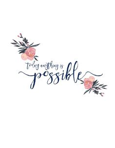 City Farmhouse - Today Anything is Possible - Free Printable