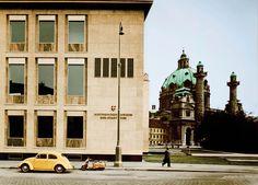 Fotostudio P. Grünzweig: Historisches Museum der Stadt Wien, 1959, © Wien Museum Museum, Vienna, Notre Dame, Architecture, Building, Places, Modern, Travel, Design