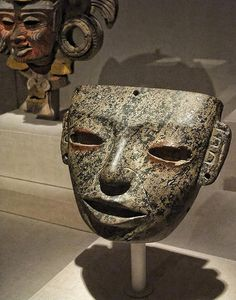 Mask Teotihuacan Mexico 300-750 CE Stone