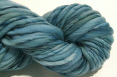 Bulky Thick and Thin Handspun Yarn Moody by SpinningWheelStudio, $22.00