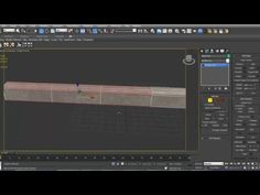 "Tutorial modelling sidewalk ""trottoir"" 3ds max - YouTube"