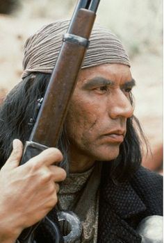 Geronimo: An American Legend. - Wes Studi as Geronimo. Native American Actors, Native American Warrior, Native American Pictures, Native American Beauty, American Legend, Native American History, Native American Jewelry, Native American Indians, Native Americans