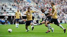 Newcastle 2 - 1 Fulham Fulham, Newcastle, Photographs, Soccer, The Unit, Garden, Sports, House, Football