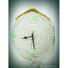 #Handmade #white #clocks #go #green #concepts #glow #numbers #unique #wall #decor #interior #product #design #decor #styling