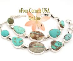 Turquoise Lover's Dream Bracelet Four Corners USA Online http://stores.fourcornersusaonline.com/news/turquoise-lovers-dream/