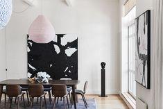 XL art in dining room