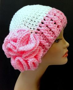 501940320940601036 Breast Cancer Awareness Hat.  Crochet Valentines ♥ by Africancrab