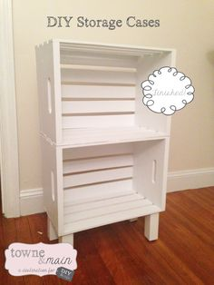 DIY bookcase, night