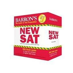 Barron's NEW SAT Flash Cards, 3rd Edition: 500 Flash Card... http://www.amazon.com/dp/0764167782/ref=cm_sw_r_pi_dp_wXYmxb1M13FM8