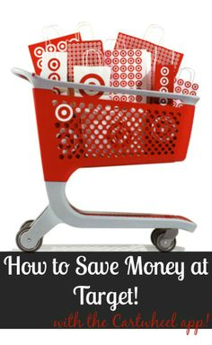 How to find savings at Target using the Cartwheel app!