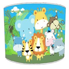 Premier Lampshades Table Baby Jungle Animals Childrens Lampshades - 10 Inch Premier Lampshades http://www.amazon.co.uk/dp/B00KCN2SJ6/ref=cm_sw_r_pi_dp_WDwXtb138WP0SHW3