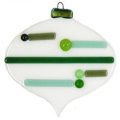 Fused Glass Projects | Glass Christmas Snowflake Ornament, Free Fused Glass Project Dicro ...