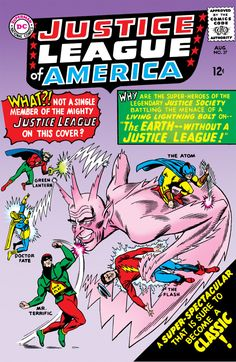Justice League of America #37 - The Earth--Without a Justice League! (Issue)