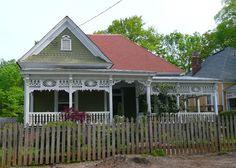 https://flic.kr/p/6j5B9h | Atlanta, GA Grant Park North Historic District Victorian Cottage | In the Grant Park North Historic District, National Register #86000462.