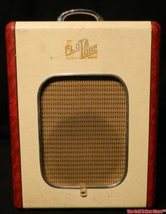 Vintage 1953 Flot A Tone FlotATone Tube Guitar Amp - Yes Sir!