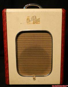 Vintage 1953 Flot A Tone FlotATone Tube Guitar Amp - Yes Sir!