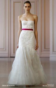 Oscar de la Renta Spring 2016 Wedding Dresses   World of Bridal
