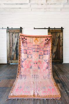 """Boujaad rug 5' x 10'5"""" by Loom + Kiln"""