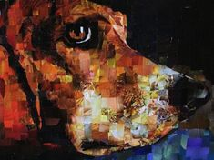 collage art japan | ... collage, recycled materials, magazine collage, pet portraits, eco art