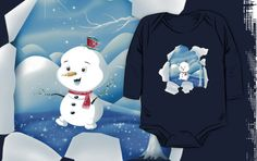 'Tear It! ~ Snowbaby Line' Kids Clothes by We ~ Ivy Presents For Friends, My Themes, Website Themes, Good Cause, Clean Design, Ivy, Toddlers, Snowman, Finding Yourself