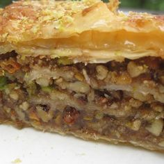This is one of our #Christmas dessert must haves!  #Baklava