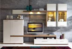 Več na: www. Furniture Design, Home, Cabinet Design, Living Room Designs, Tv Wall Design, Wall Unit, Crockery Unit, Interior Wall Design, Tv Wall Unit