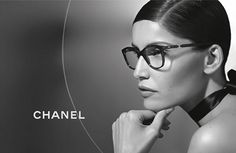 faa5eea6e34923 Lunettes Chanel Ete 2013 Campagne Laetitia Casta Mode Femme, Lunettes Chanel,  Lunette De Vue